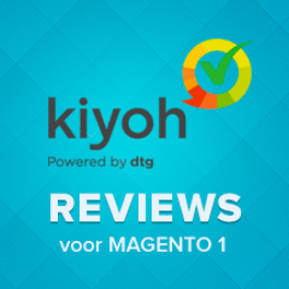 Kiyoh reviews module voor Magento 1x